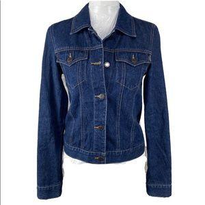 A&F • Vintage Denim Trucker Workwear Jacket